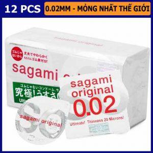 Bao Cao Su Sagami Original 002 Vũng Tàu