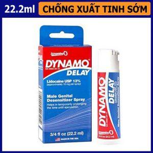 Thuốc hỗ trợ quan hệ lâu ra Dynamo Delay - shop bao cao su vũng tàu Cậu Nhỏ