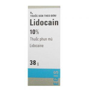 Thuốc Trị Xuất Tinh Sớm Lidocain 10% Spray 249,000 đ