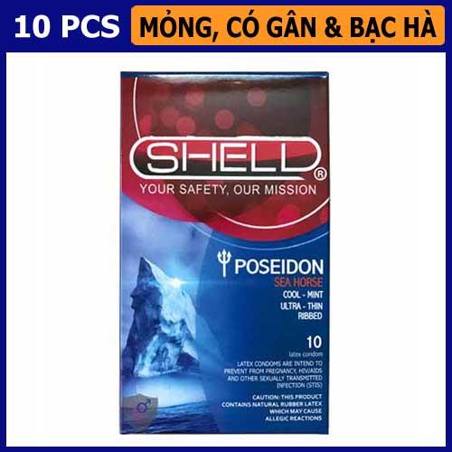 Bao cao su Shell Poseidon Vũng Tàu