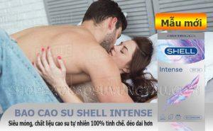 Shell Intense siêu mỏng - shop bao cao su vũng tàu Cậu Nhỏ