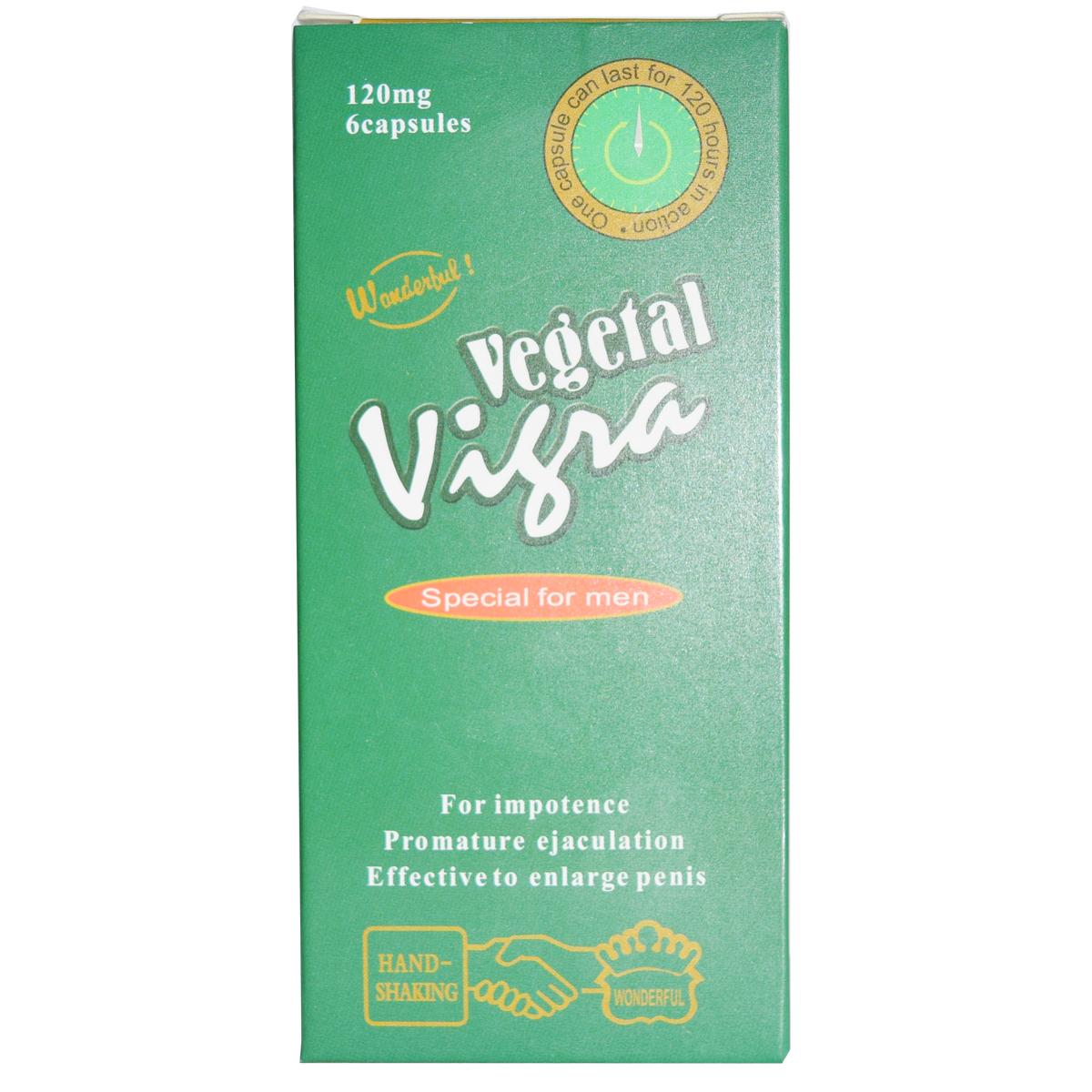 Viagra Thảo Dược Vigra Vegetal 120mg Vũng Tàu