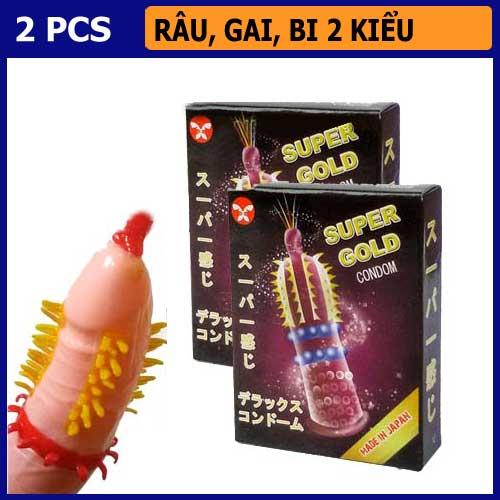 Bao Cao Su Super Gold - Shop bao cao su vũng tàu Cậu Nhỏ