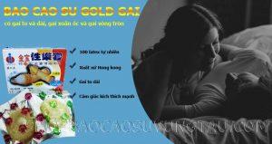Bao Cao Su Gold Gai - shop bao cao su vũng tàu Cậu Nhỏ