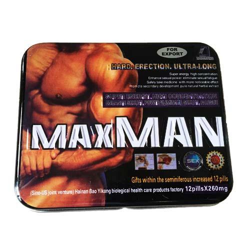 Thuốc hỗ trợ cương cứng Maxman Super Energy