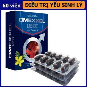 Thuốc tăng cường sinh lý nam giới Omexxel Libido - shop bao cao su vũng tàu Cậu Nhỏ