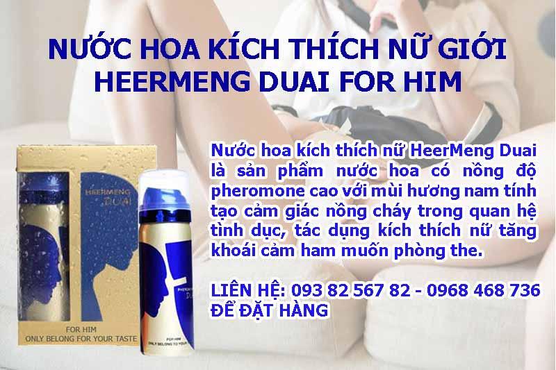 Nước hoa kích thích nữ HeerMeng Duai for Him vũng tàu