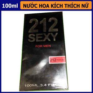 Nước hoa gợi tình nữ giới 212 sexy for men