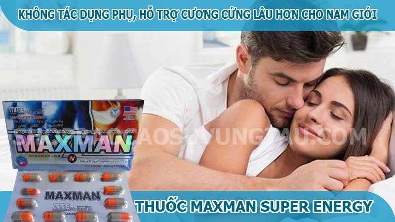 thuốc cường dương maxman super energy - shop bao cao su vũng tàu Cậu Nhỏ