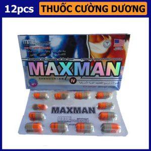 Thuốc hỗ trợ cương cứng Maxman Super Energy - shop bao cao su vũng tàu Cậu Nhỏ