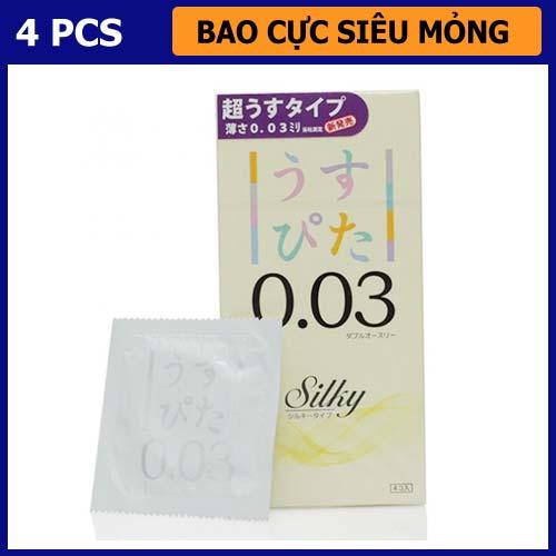 Bao Cao Su Usupita Silky 003mm - Shop bao cao su vũng tàu Cậu Nhỏ