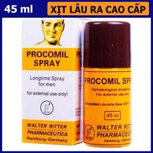 Thuốc lâu ra Procomil Spray 45ml - shop bao cao su vũng tàu Cậu Nhỏ